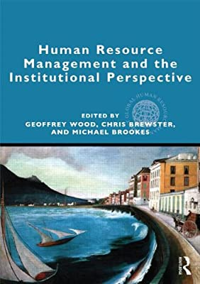 Human Resource Management and the Institutional Perspective.pdf