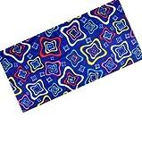 RYDER 户外骑行头巾 无缝时尚魔术头巾 围脖 口罩运动护腕 抹胸 WH1075万花筒3(蓝)-图片