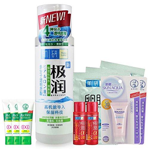 Mentholatum曼秀雷敦 肌研极润保湿化妆水套装