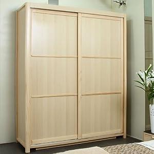 巢木良品中式现代家具实木趟门衣柜卧室配套木质移门衣柜特价 2门 1.