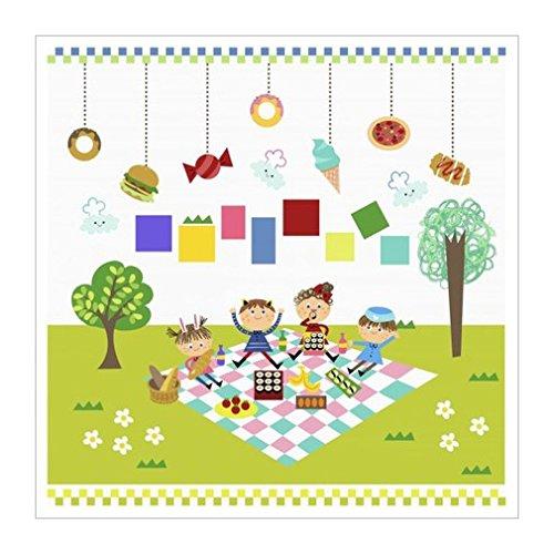 原版进口装饰画 快乐的孩子们享受自己的时间 vi【happy children