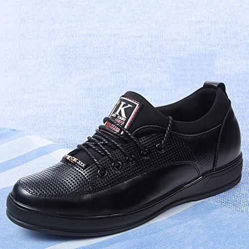 Gog 高哥 秋季内增高男鞋6cm男士增高鞋男式6厘米时尚休闲鞋系带