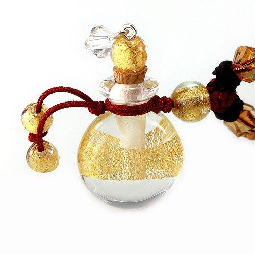 王廷珠宝 金箔琉璃百宝瓶项链-灿烂回旋 兔年转运 化解太岁-图片