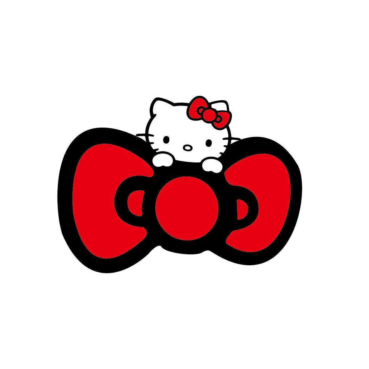 kitty猫贴画图片