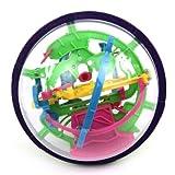 【网上城】爱可优 3D立体迷宫球 魔幻智力球 儿童益智玩具 开发大脑挑战智力 小100关 929A-图片