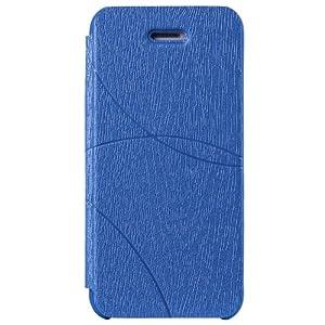 ...apple苹果5代弧形纹路手机壳超薄纤皮立体防刮手机套可折叠折...