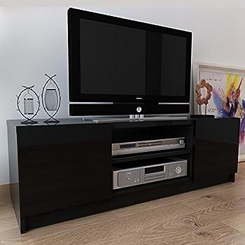 择木宜居 新款简约客厅电视柜 时尚宜家液晶电视机柜 地柜影视柜 黑色