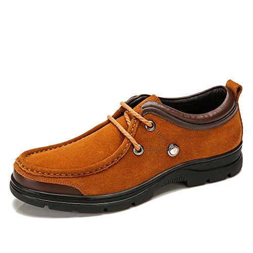 骆驼牌 秋冬新款男鞋 日常休闲男士鞋子耐磨休闲皮鞋W432160010