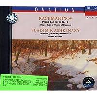 进口CD:拉赫玛尼诺夫:第二钢琴协奏曲等