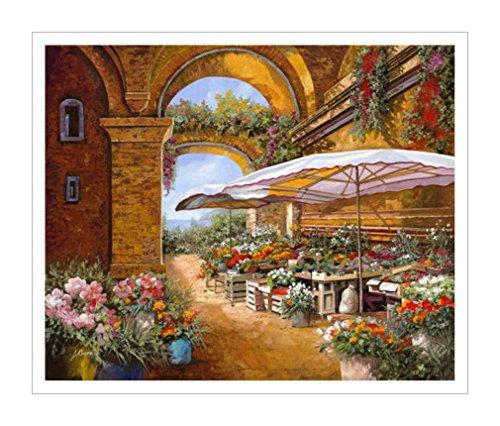 场景|城市景观装饰画|花艺装饰画|花艺|街景|风景装饰画|花卉装饰画