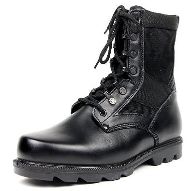 3515 强人 男式中筒靴/特战靴/户外靴/双密度作战靴/07作战靴