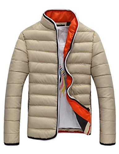 WHITEPAUL 怀特保罗 夹克男装外套男士夹克X302XM65XJXM 110 (XL, 卡其色)-图片