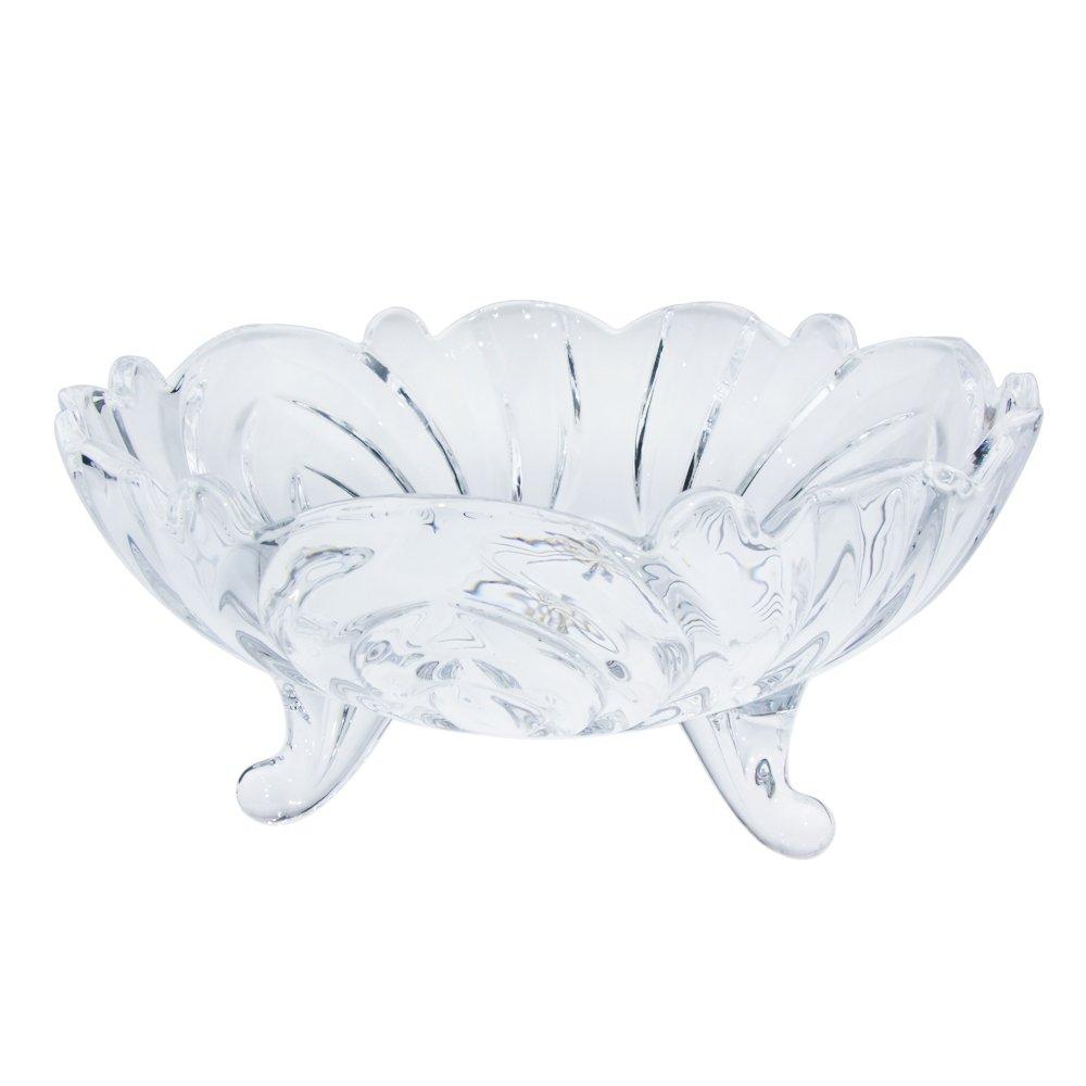 弗莱纹茨 水晶三角玻璃果盘 创意 时尚 水果盘 干果盘