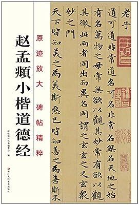 原迹放大 碑帖精粹:赵孟頫小楷道德经.pdf