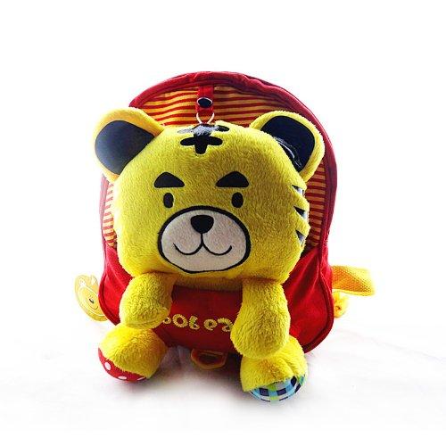 韩版纯棉可爱立体卡通老虎 儿童幼儿园小书包 宝宝玩具背包 m911
