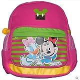 真彩 迪士尼米奇米尼幼儿园小班双肩书包 可爱卡通书包 M626032 (红色)-图片