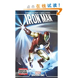 iron man: season one/gerald parel-图书-亚马逊