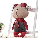 yctoy源辰玩具皮皮狗可爱小狗狗毛绒玩具创意公仔玩偶靠垫抱枕布娃娃儿童节生日礼物 (1.2米, 红色)-图片
