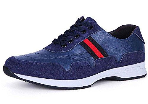 Guciheaven 古奇天伦 时尚英伦风反绒加超纤休闲鞋 简约低帮驾车鞋 系带运动防滑鞋男鞋
