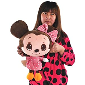 好幼礼 q版米奇 大头米奇毛绒玩具公仔 萌版米老鼠 米奇米妮情侣结婚