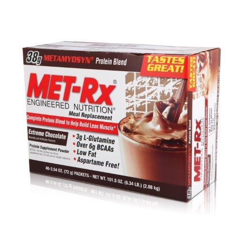 MET-Rx 美瑞克斯 全效营养餐包固体饮料(极限巧克力味)40袋(进口)-图片