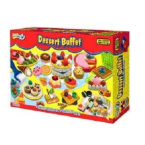 Doh-Dough多多樂  彩泥 點心自助餐 (禮物 玩具)50158