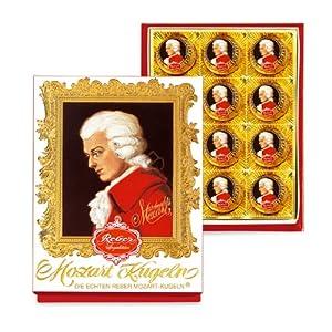 Mozart莫扎特巧克力礼盒(12粒装)240g(德国进