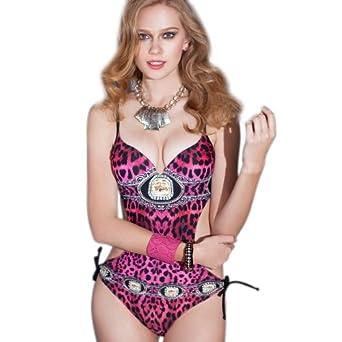 卓妮姿 高端连体泳衣女款数码印花修身显瘦拢胸欧洲时尚2014新款 新品