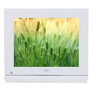 还好! aigo 爱国者 数码相框 DPF907D 8寸大屏 7毫米超薄外观 内置1000毫安锂电 光感触控按键 多功能