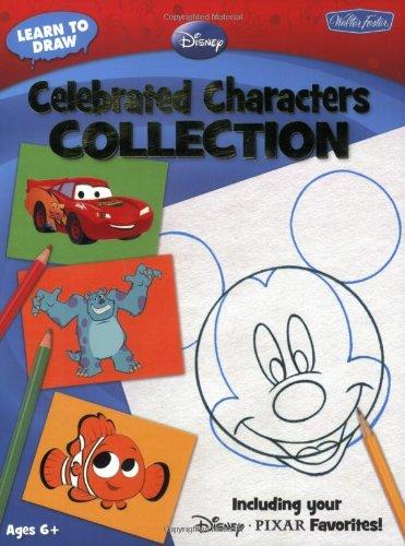迪士尼儿童简笔画-n Draw Disney Celebrated Characters Collection Including Your