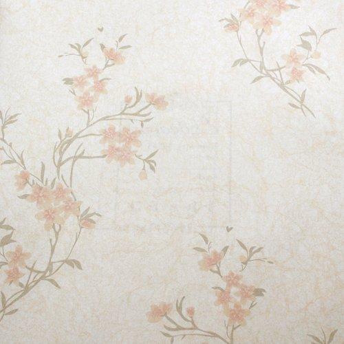 爱朵 韩式田园风小花卉藤条藤花壁纸 卧室客厅沙发电视背景墙纸 916-3