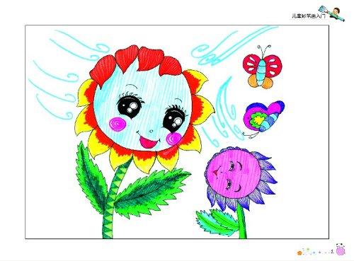 童水彩笔画作品分享展示