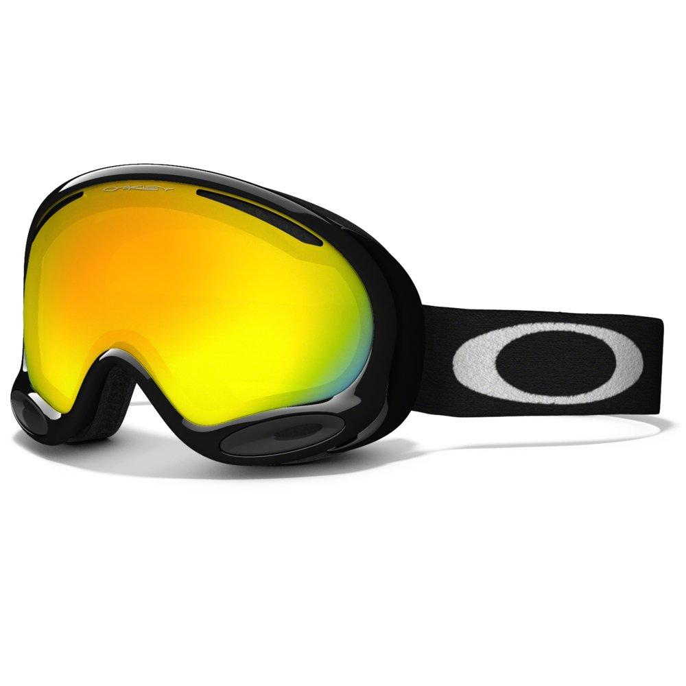 oakley hi yellow goggles  oakley a-frame 2.0 ski