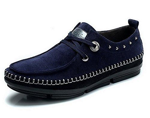 Mulinsen木林森 时尚商务休闲男鞋 男士帆布鞋 韩版潮流板鞋 旅游休闲运动鞋 驾车鞋 6L8140002