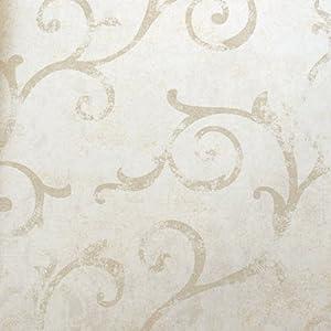 爱朵 简欧藤蔓藤条无纺布环保墙纸 客厅卧室餐厅电视沙发背景壁纸 050图片