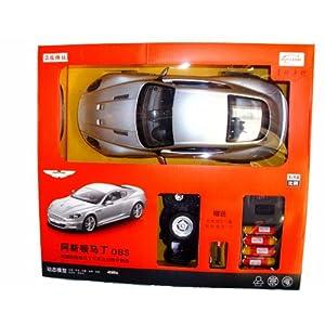 星辉 遥控车模 14充电礼盒装阿斯顿马丁dbs 银色高清图片