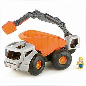 美国尘土怪兽车含1个挖土公仔633195建筑机电枪玩具图片
