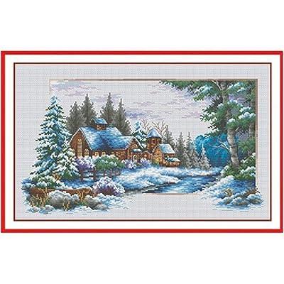 星光十字绣-冬季风景(中格52173)