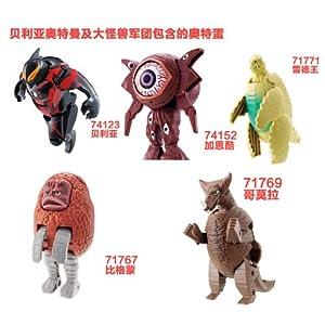 bandai 万代 奥特蛋 贝利亚/赛罗奥特曼及大怪兽军团礼盒5/6个套装