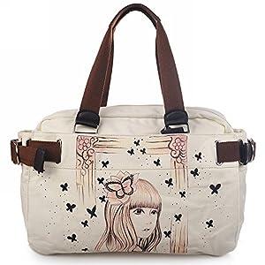 女士包包 三用女包 帆布包