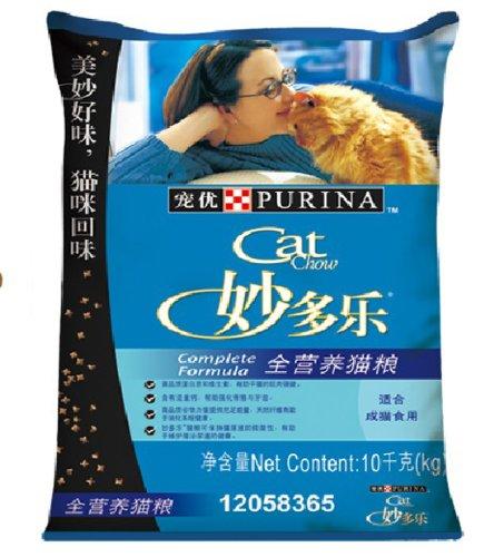 CatChow妙多乐全营养猫粮10kg ¥214-60