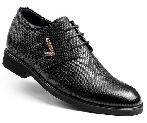 GOG(高哥) WZ868男增高皮鞋 正装内增高6.5cm