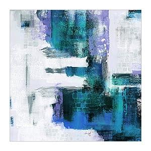 原版進口裝飾畫 藍色抽象畫 ii【blue abstract ii】
