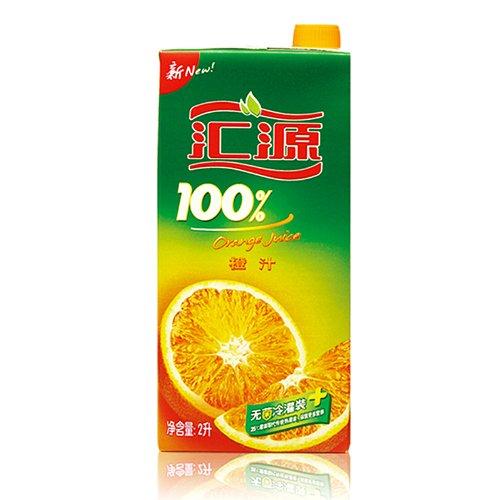 汇源 100%橙汁 2L