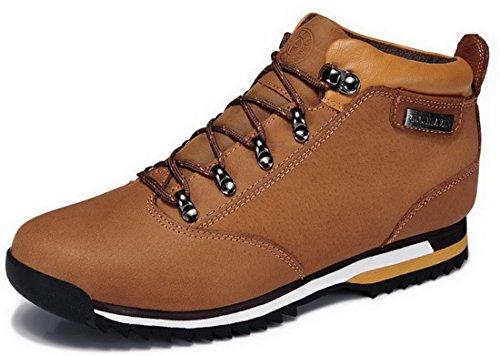 Guciheaven 皮鞋 男士 高帮 真皮 棉质内里马丁靴 工装鞋 商务休闲皮鞋 尊贵男鞋 G5D702