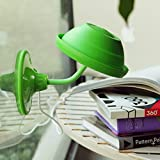坤广科技 都乐DOULEX百变趴趴LED小台灯 真空吸盘 USB小夜灯 (绿色)-图片