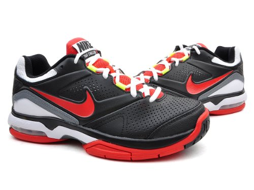 Nike耐克 男式 网眼透气开窗式AirMax缓震后跟高耐磨橡胶大底稳定网球鞋524647-061包邮
