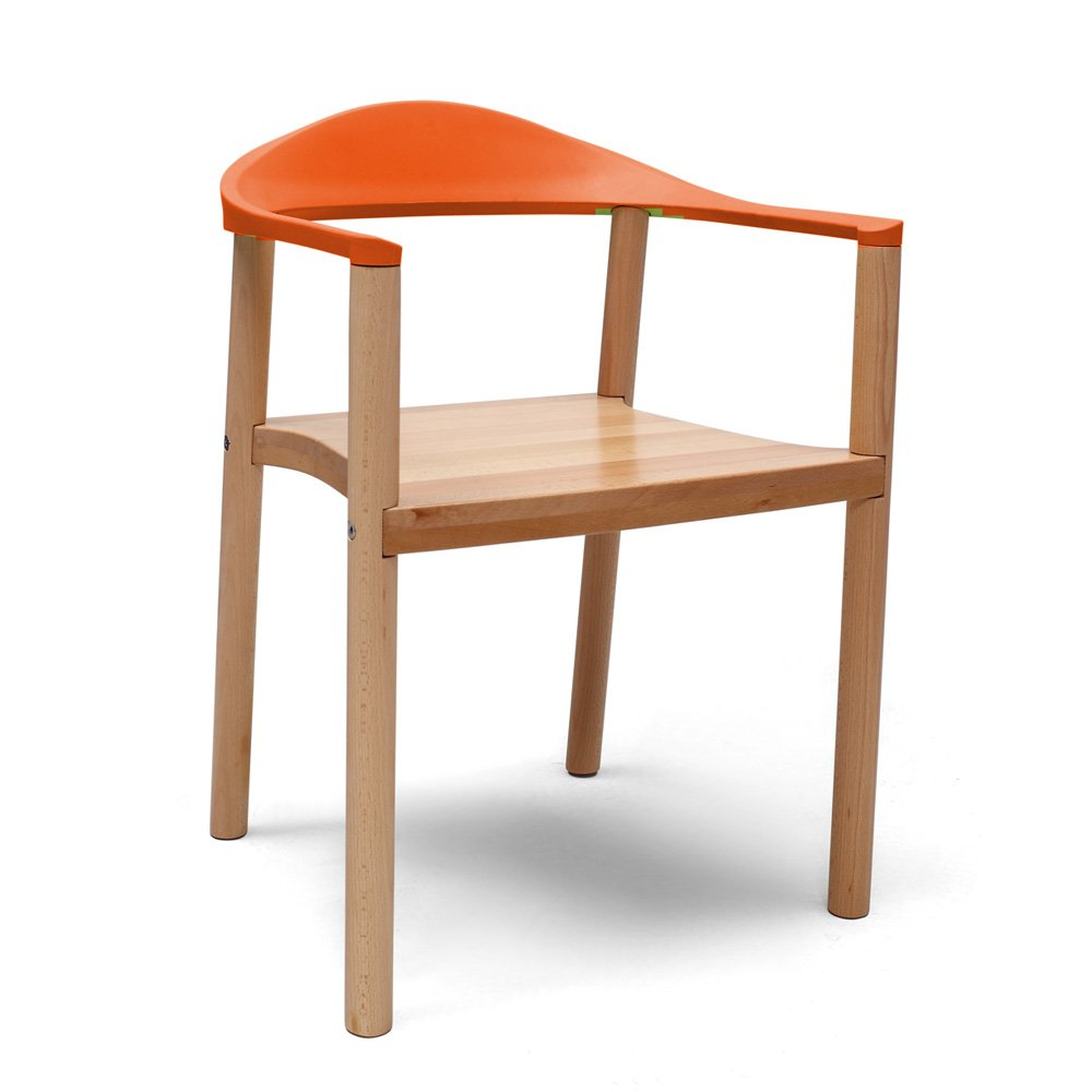 imuse实木椅子餐椅 扶手椅子时尚创意会客椅子时尚休闲椅家具凳子