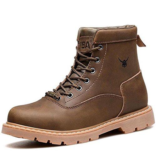Unbeaten 超酷美国海军陆战队 战靴 高帮靴 马丁靴 军靴 户外靴 潮流个性真皮 骑士靴 时装靴 男靴