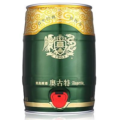 tsingtao 青岛啤酒 奥古特金樽 5l桶装礼盒
